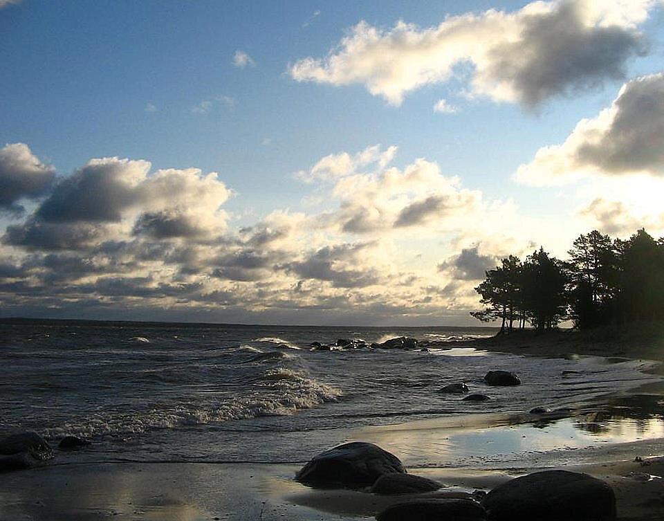 Leetse, mere kaldal
